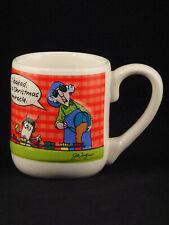 "Hallmark 3-D Maxine ""I Baked, It's A Christmas Miracle"" Coffee Mug"