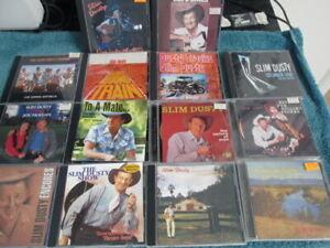 SLIM DUSTY . 14 DISC CD ALBUM COLLECTION