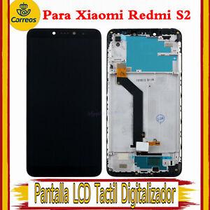 Pantalla Para Xiaomi Redmi S2 LCD Completa Tactil Digitalizador Negro + Marco