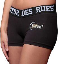 BOXEUR DES RUES Sèrie Exclusive Shorts mit Logo, Schwarz, S