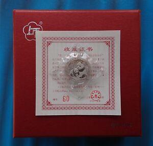 Shanghai Mint:2015 China 3RD Panda coin Collection Expo Platinum 1/10oz,RARE!
