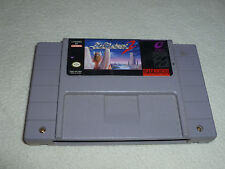 SUPER NINTENDO SNES VIDEO GAME CARTRIDGE ONLY ACTRAISER 2 CART RARE ENIX