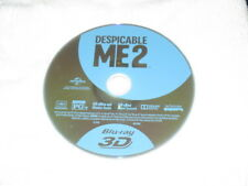 3D Movie Blu Ray DESPICABLE ME 2 AWESOME DISC ONLY MINIONS **