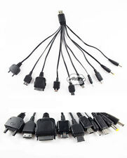 10 in 1 Universal USB to Multi Plug Cell Phone Charger Cable New Nokia Samsung