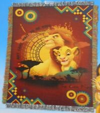 New Can't Wait To Be King The Lion King Simba Tapestry Throw Gift Blanket Movie