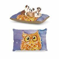 Pet Bed Pet Pillow Large Breed 30 x 40 Little Hoot