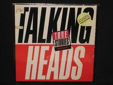 TALKING HEADS ~ True Stories IN SHRINK ~ U.S. orig SIRE - 1986 HYPE new wave EX+