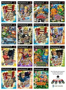 PS2   Buzz   Choose Your Game Multi-Listing