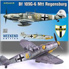 EDUARD 1/48 MESSERSCHMITT BF-109 MTT REGENSBURG WEEKEND EDITION KIT 84143