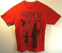 Men's Paramore - Two Different Worlds - Red Tee T-Shirt Size: M Medium
