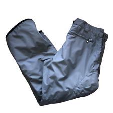 Liquid Boardwear Mens Womens Size XXL Gray Unisex Winter Snow Boarding Ski Pants