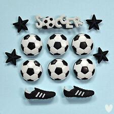 Dress It Up Botones de Fútbol 418-Pelota De Fútbol Botas Estrellas