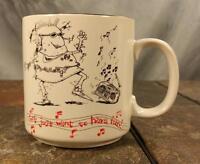 John Lamb Girls Just Want To Have Fun Cartoon Comic Dancing Music Coffee Mug Cup