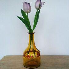 vase/carafe motif fleurs