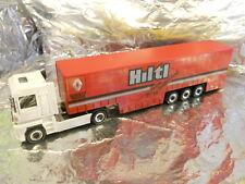 Herpa 282703 RENAULT Magnum Curtain Canvas Semitrailer Hiltl 1 87 HO Scale