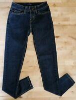 Levi's 535 Women's Legging Jeans Stretch Dark Wash Size 0 M