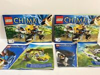 Lot LEGO Legends Of China Instruction Manuals Only Sets 70002 70104 70106