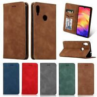 Flip Case Magnetic Leather Wallet Card Slot Cover For Samsung Galaxy A70 A50 A20