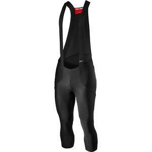 NEW Castelli SORPASSO RoS Cycling Bib Knickers, Black, Size XL