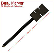 -NEU- Graphitpaddel: BEAs MARVER f. RingTops, Cabochons und Off-Mandrel Designs