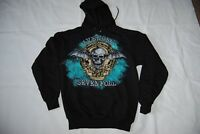 AVENGED SEVENFOLD BAT SKULL HOODIE HOODED SWEATSHIRT NEW OFFICIAL A7X RARE
