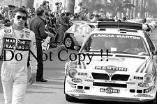 Henri Toivonen Martini Lancia Delta S4 Monte Carlo Rally 1986 Photograph 9