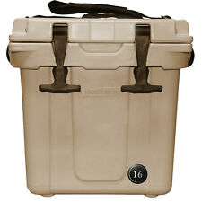 **CLEARANCE SALE** 16 Quart  PREMIUM FROSTBITE COOLER, Tan Color FREE SHIP