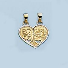 New Boy Girl Friend Breakaway Charm - 10K Gold