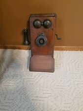 antique phone crank