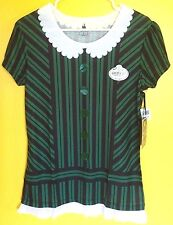 NEW Disney Haunted Mansion Maid Ghost Host Hostess Tee T Shirt Costume Size XS