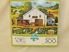 Charles Wysocki 300 Piece Jigsaw Puzzle Catchin' Bugs Buffalo Games Nib Large Pc