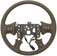 GM Buick LeSabre 2000-2005 Steering Wheel Md Neutral Leather w Cruise/Audio