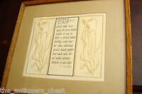 "David Lance Goines 1968 ""Pepper Toast"" Recipe Vintage calligraphy Print[4]"