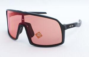 Oakley Sutro S OO9462-0328 Youth Sunglasses - Matte Black/Prizm Trail Torch