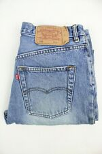 Mens Vintage LEVIS 501 Denim Jeans W32 L30 Regular Straight Leg Blue