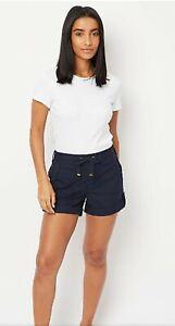 Ex M&S Ladies Women Summer Shorts Ladies Casual Fashion Cuffed Poplin Shorts