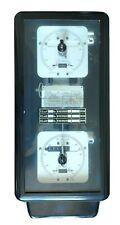Ancien compteur électrique triphasé EDF Landis & Gyr de 1974 collection L8A1b