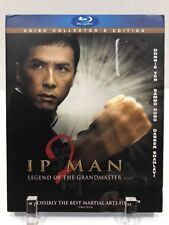 Ip Man 2: Legend of the Grandmaster (Blu-ray Disc, 2011, 2-Disc Set,...