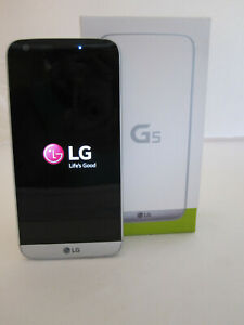 LG G5 LS992 - 32GB - Silver (Sprint) Smartphone 4G Android 16mp Camera