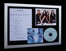 THE CORRS Runaway LIMITED Nod CD MUSIC FRAMED DISPLAY!!