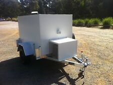 . 6 x 4 Foot - Single Low Profile - Mobile Trailer - Portable Cool Room