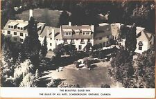 1948 Overview of the Guild Inn Scarborough Ontario real photo postcard view