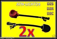 2x  D2S D2R D2C für Xenon HID Ballast Adapter Kabel Connector für Vorschaltgerät