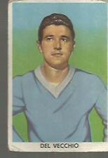 FIGURINE CALCIATORI SIDAM 1960 / 61 - NAPOLI -# 176 - DEL VECCHIO -  SOCCER CARD