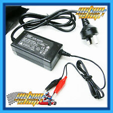 GO KART SMART BATTERY CHARGER + CARRY BAG ALL12 VOLT BATTERIES ROTAX X30 KA100