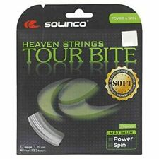 Solinco Tour Bite Soft 4-Sided Poly (Polyester) 16/16L/17/18 Gauge Tennis Racque