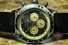 Out of Order OOO CHRONOGRAFO DAYTONA BLACK - Vintage Look - New and Dependable
