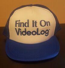 Vintage Find It On VideoLog Snapback Hat Internet YouTube Viral Funny Netflix