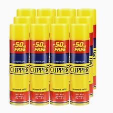 More details for genuine clipper universal lighter butane gas fuel fluid refill 300ml smoking new