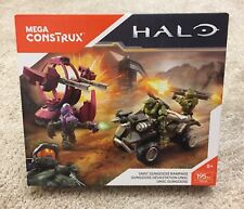 Mega Bloks Halo UNSC Gungoose Rampage Set FDY54 NISB Covenant Shade Turret